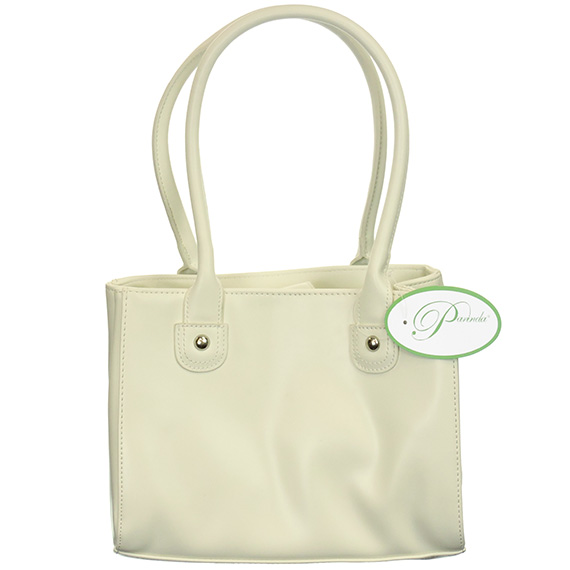 Handbag Parinda Large Faux Leather Isabella Sand
