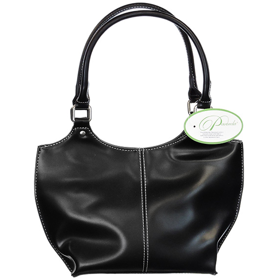 Handbag Parinda Large Faux Leather Caterina Black