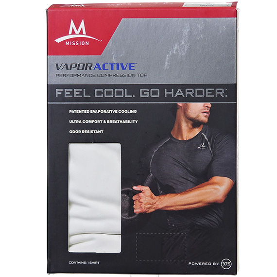 Mens Performance Baselayer White S - RS