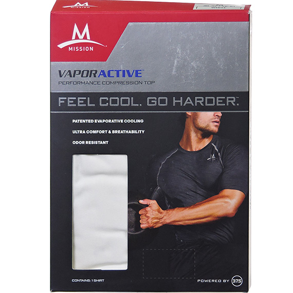 Mens Performance Baselayer White L - RS