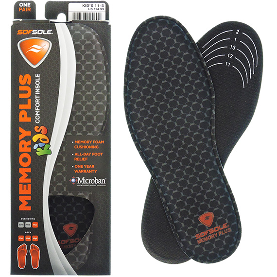 Insole Kids Size 11 -3 Memory Plus