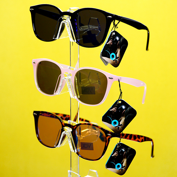 Retro Sunglasses - Assorted Color Frames and Tints