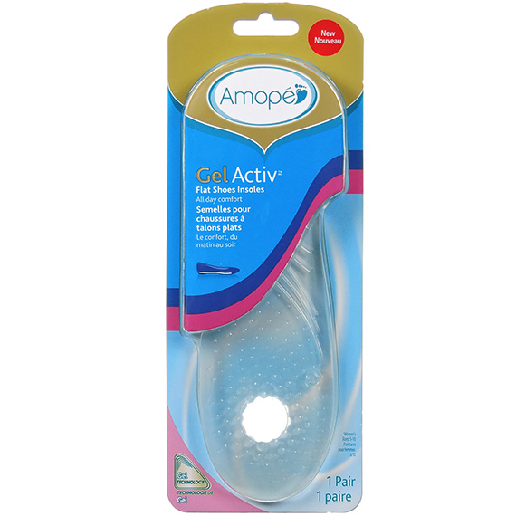 Amope® Gelactiv™ Flat Shoes Insoles 36/1 Ct. RSO RSC