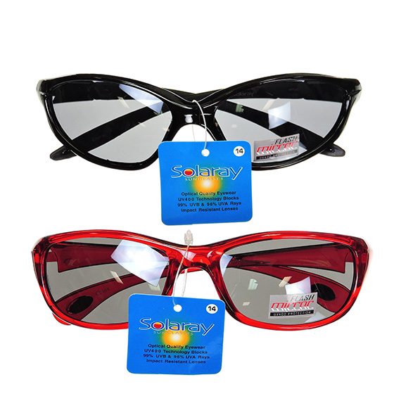 Mes Sport Assorted Red And Black Frames Tinted Lens PP 12.99