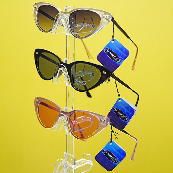 Retro Sunglasses - Cat Eyes - Assorted Colors