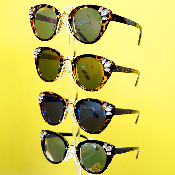 Celebrity Sunglasses - Assorted Colors and Tints