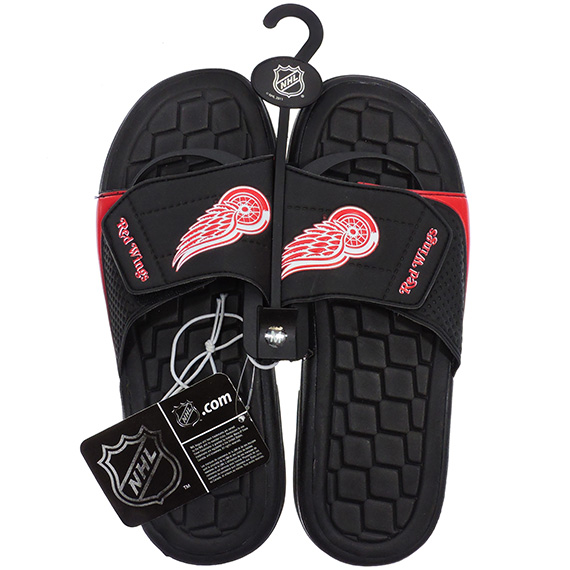 Sandals NHL Hockey Red Wings Asst Sizes