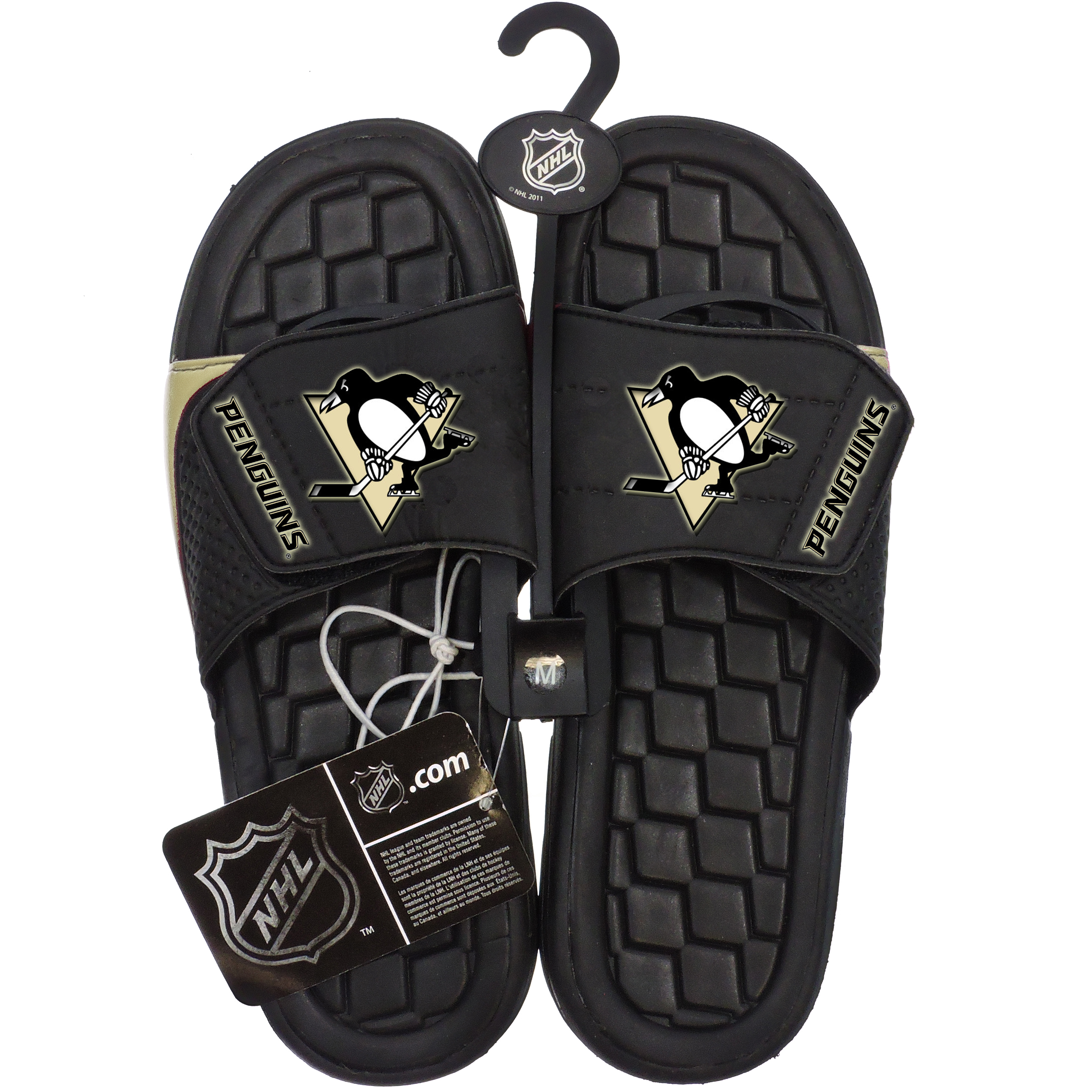 Sandals NHL Hockey Penguins Asst Sizes
