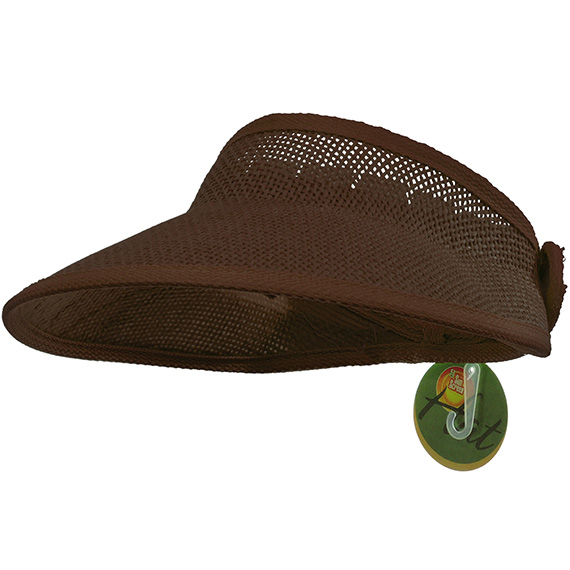 Sun Visor Brown Mesh