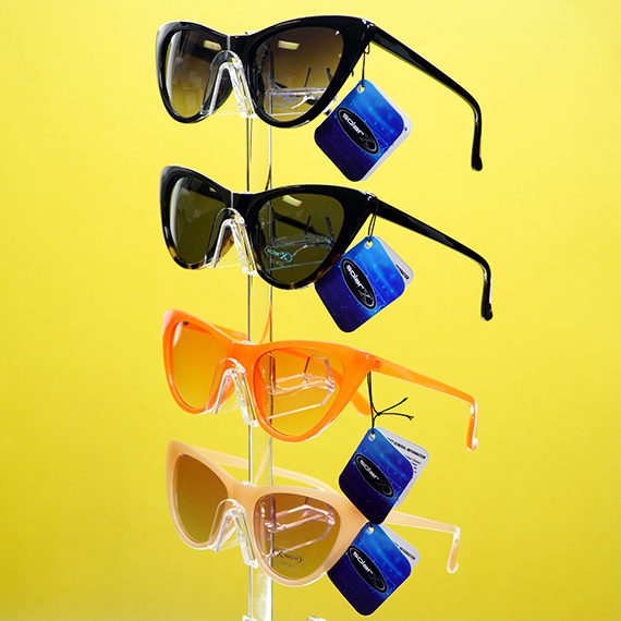 Pilot Sunglasses w/Revo Lens - Asst Colors
