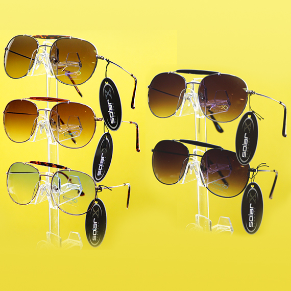 Pilot Wire Frame Sunglasses - Asst Collors and Tints