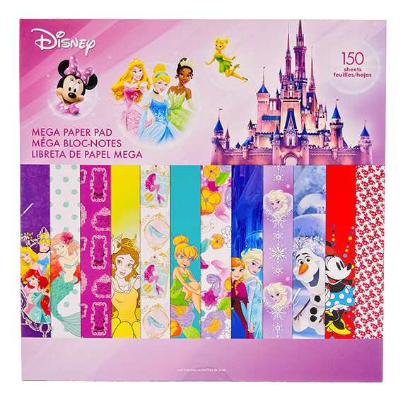 Disney Girl 2 Mega Paper Pad - 150 Sheets