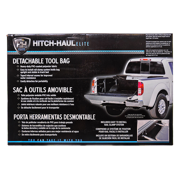 Detachable Truck Tool Bag Blk