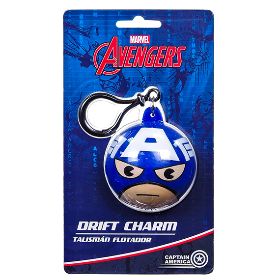 Marvel Captain America Drift Charm - Body Accent