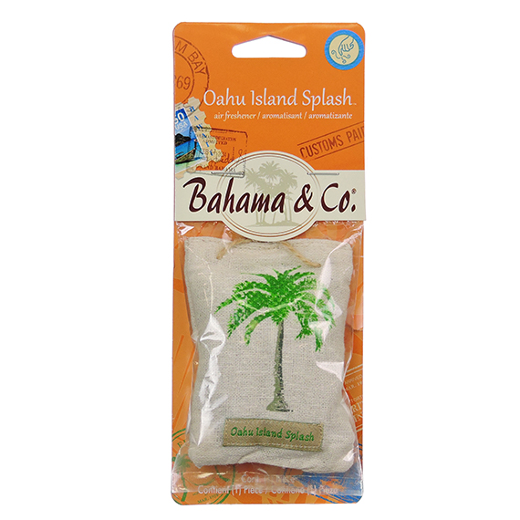 Bahama & Co Scent Pouch Oahu Island Splash - Trilingual