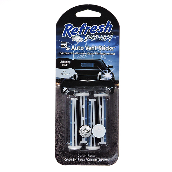 Refresh Auto Vent Stick Bp 4Pk Ice Storm - Trilingual
