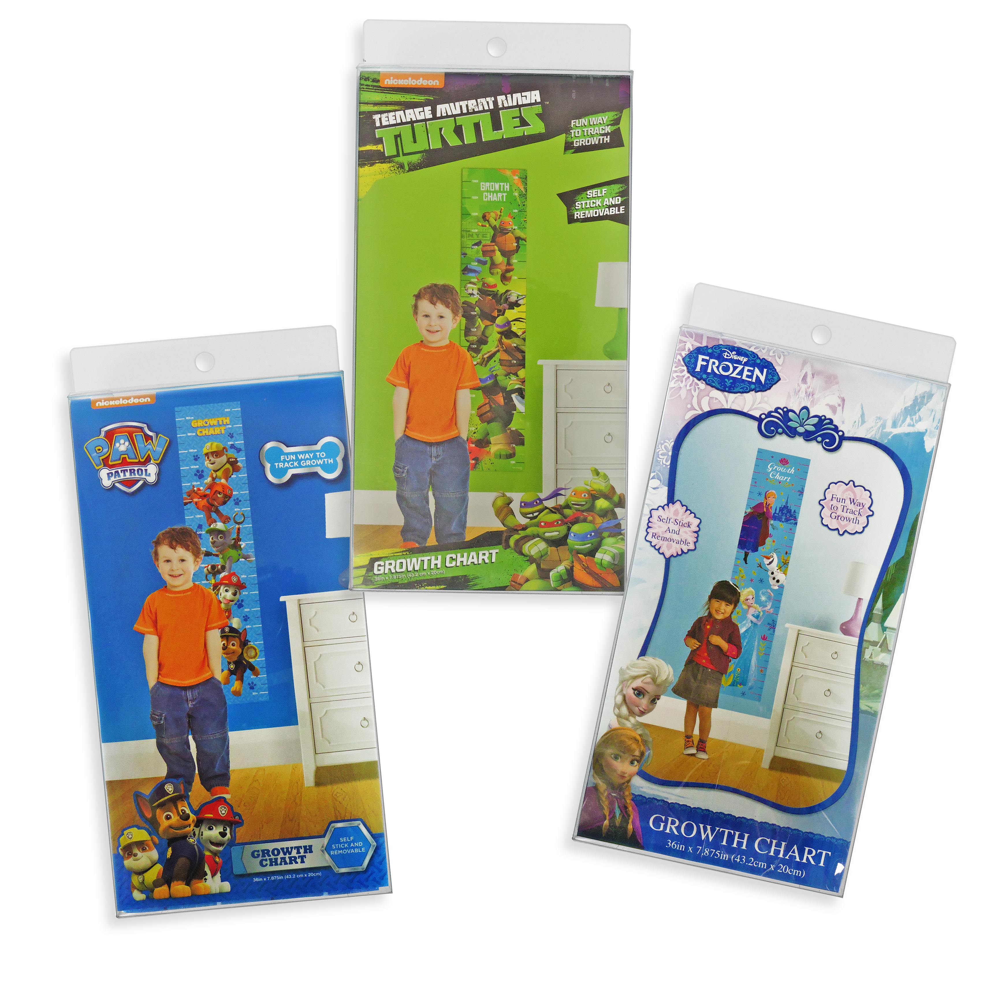 Disney® Growth Chart 3 Assorted