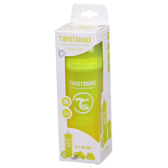 Twistshake Anti-Colic 330Ml - 11Oz Yellow