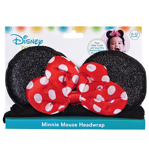 Minnie Mouse Headband Ages 0-12 Months