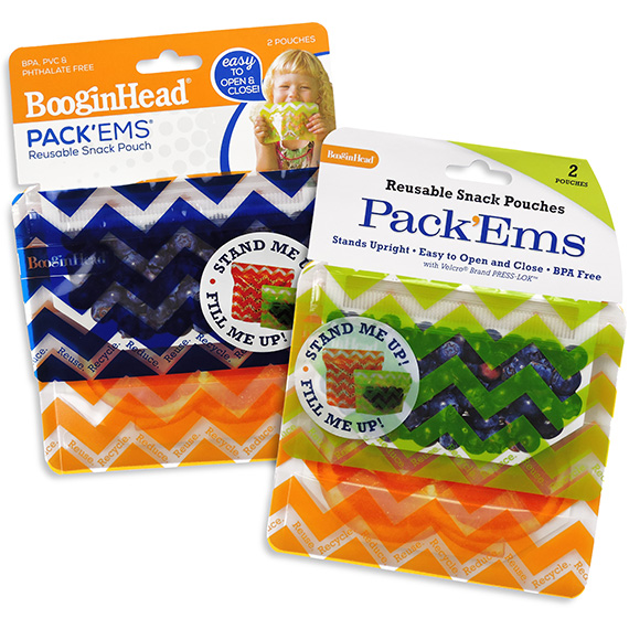 Reusable Snack Pouch Pack™Ems 2 Pack Asst
