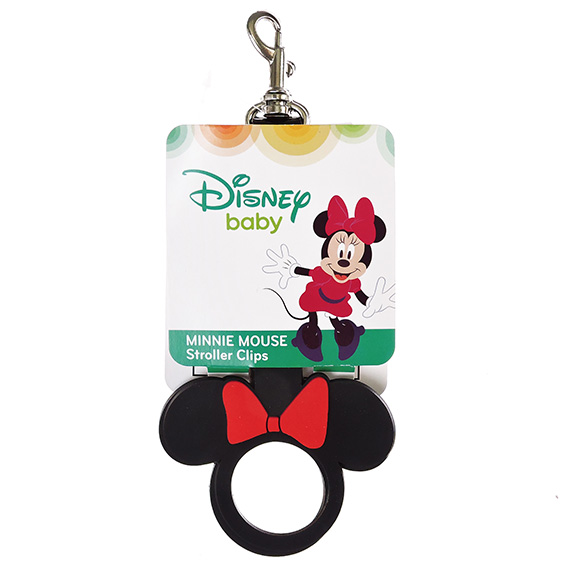 Minnie Mouse Easy Attach Stroller Clips
