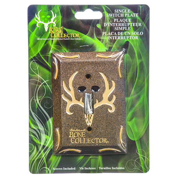 Bone Collector Switch Plate-Single