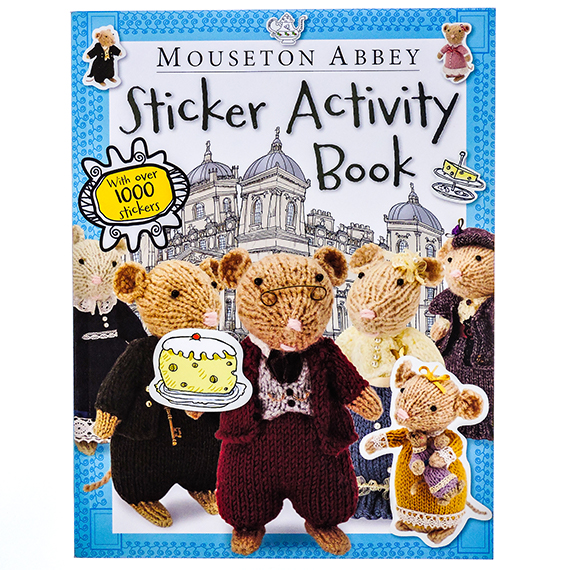 Mouseton Abbey Sticker Book