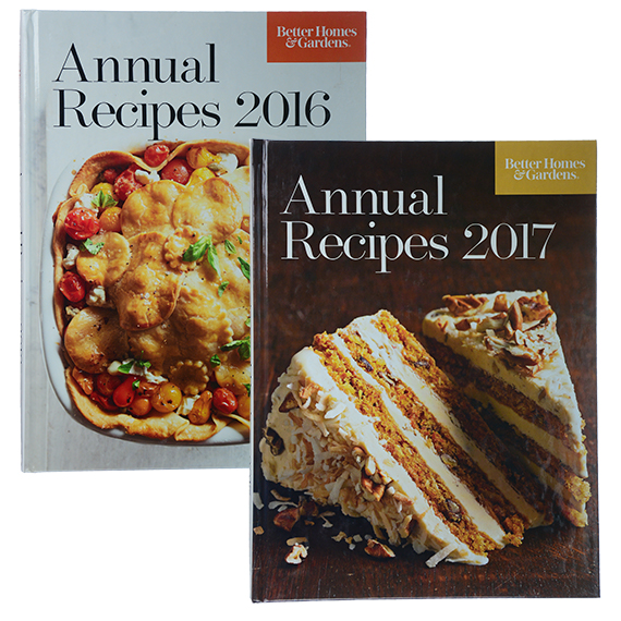 Better Homes And Gardens Cookbook Assortment Of 2