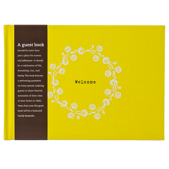 Welcome Mountains Guestbook