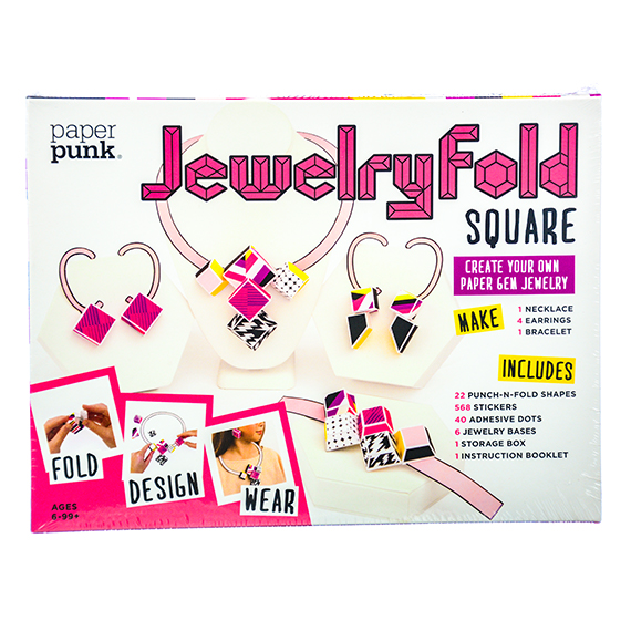 Jewelry Fold - Square: Create Your Own Paper Gem Jewelry