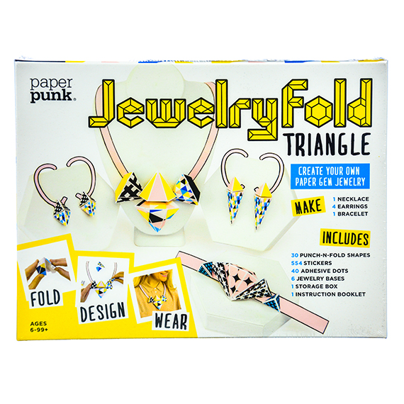 Jewelry Fold - Triangle: Create Your Own Paper Gem Jewelry