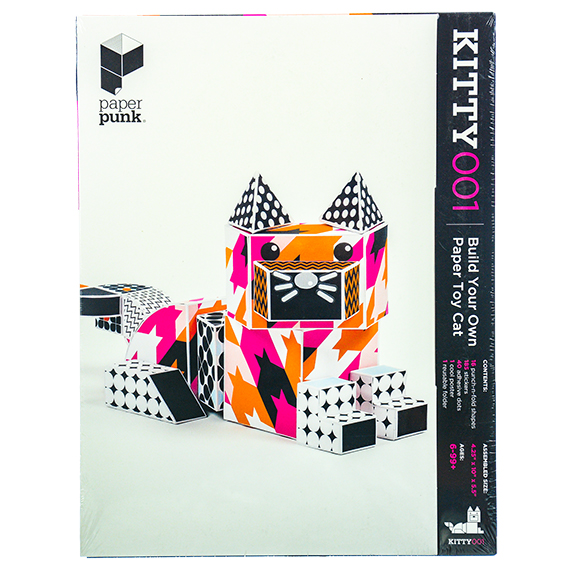 Build Your Own Paper Toy Cat