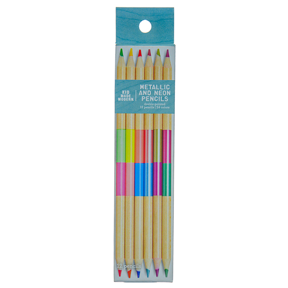Dual Color Pencil Set