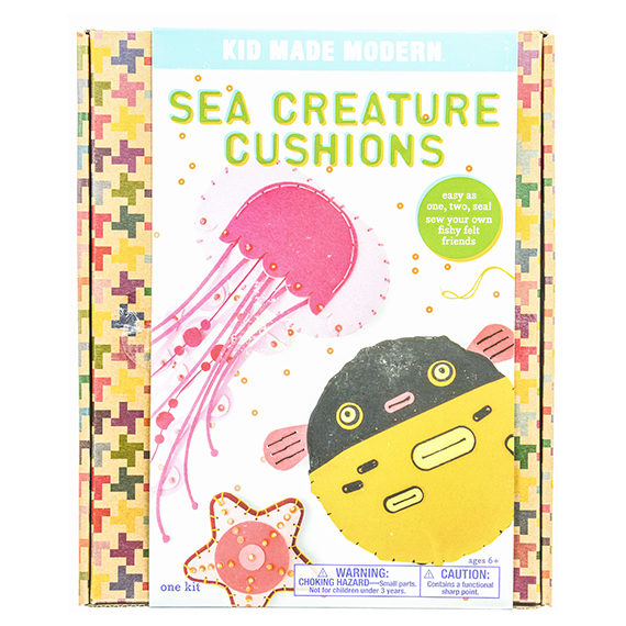 Sea Creature Cushions Kit