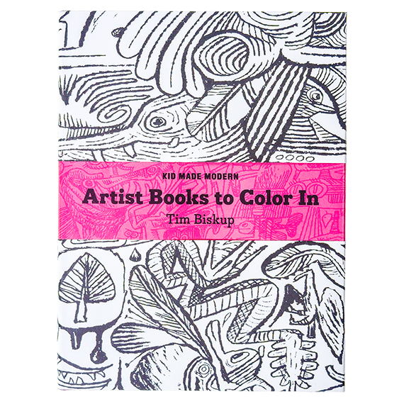 Artist  Books to Color-In Book: Tim Biskup