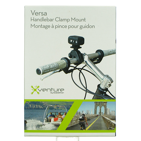 Versa Handlebar Clamp Mount for Action / Video Camera