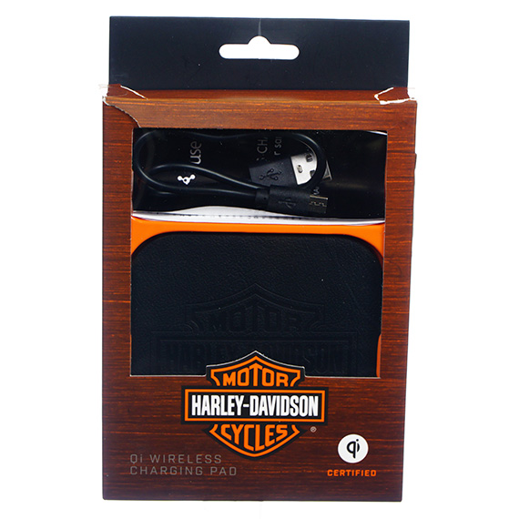 Qi Wireless Charging Pad - Debossed - Harley-Davidson