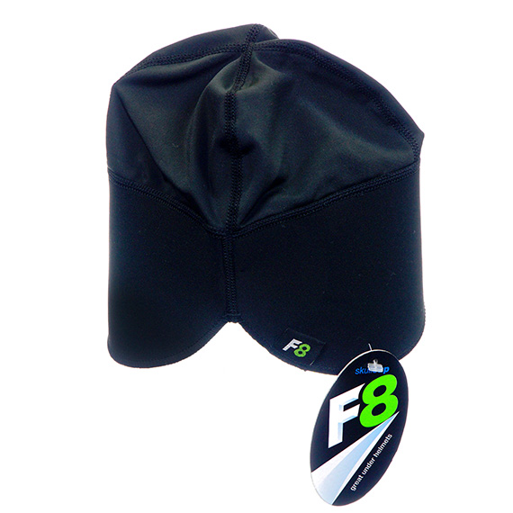 Moisture Wicking Stretch Cap - Black