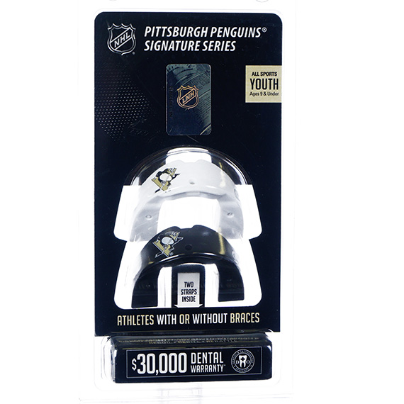 NHL Mouthguard Pack-Penguins-Youth