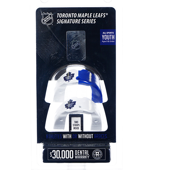 NHL Mouthguard Pack-Maple Leafs-Youth