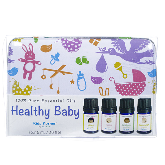 Pure Essential Oil Blends in a Tin - Healthy Baby