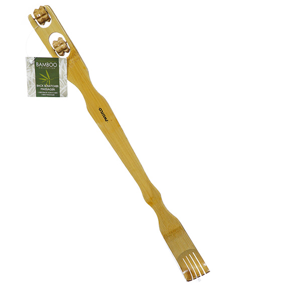 Bamboo Back Scratcher and Massager