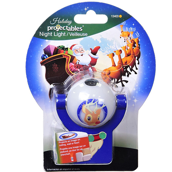 Holiday Projectibles Reindeer LED Night Light