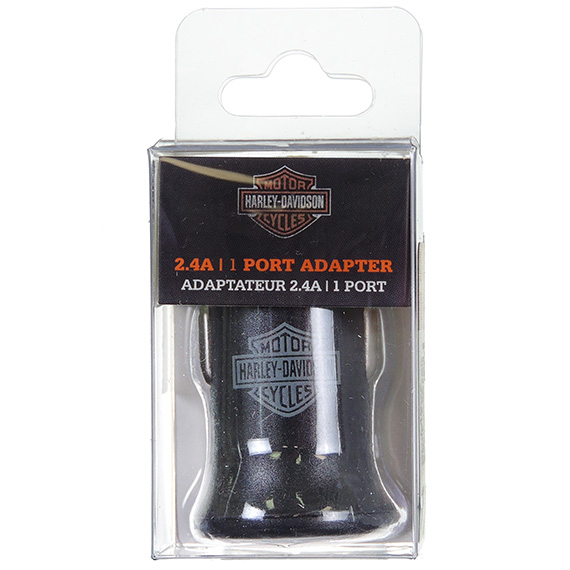 Harley-Davidson 2.4A Car Adapter