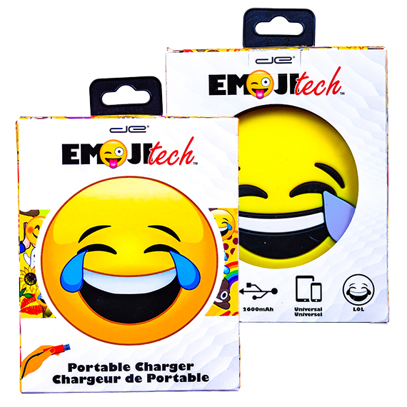 Emoji-Tech Lol Rechargeable Power Bank 2600 mAh