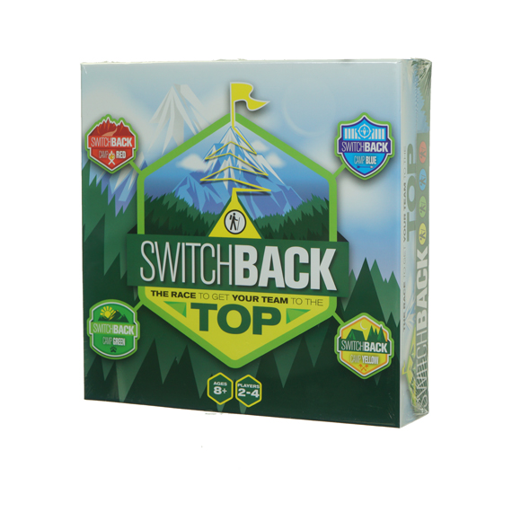 Switchback Race to the Top Game - Ages 8+, 2-4 Players