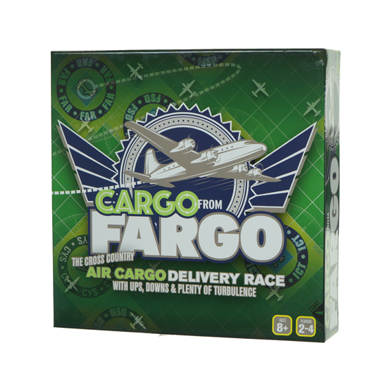 Cargo from Fargo Game - Ages 8+, 2-4 Players