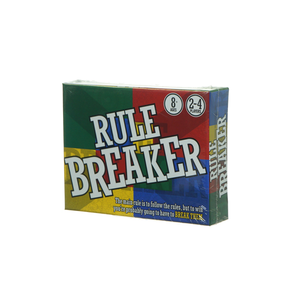 Rule Breaker Game - Ages 8+, 2-4 Players