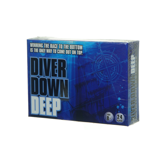 Diver Down Deep Game - Ages 8+, 2-4 Players