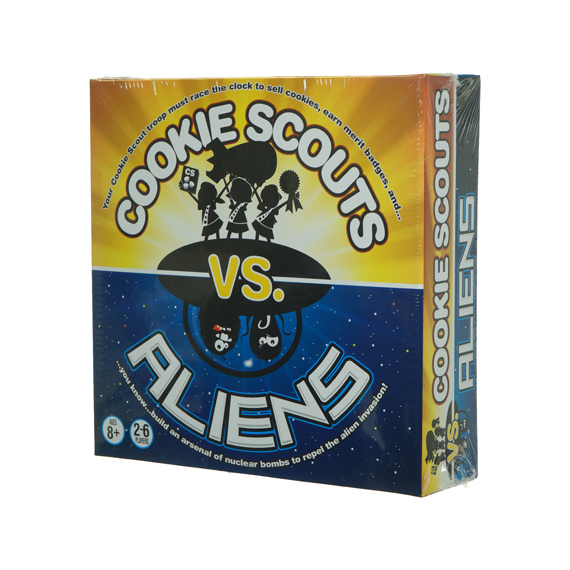 Cookie Scouts vs Aliens Game - Ages 8+, 2-6 Players